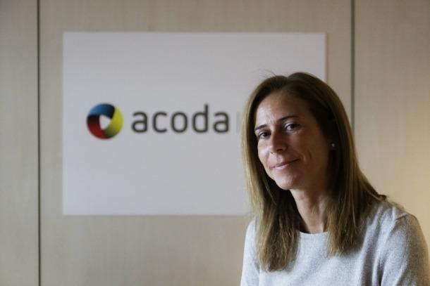 La gerent de l'Acoda, Mònica Dalmau.