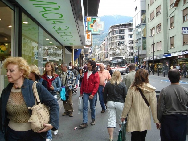 El turisme a Andorra creix a un ritme inferior que a les regions veïnes