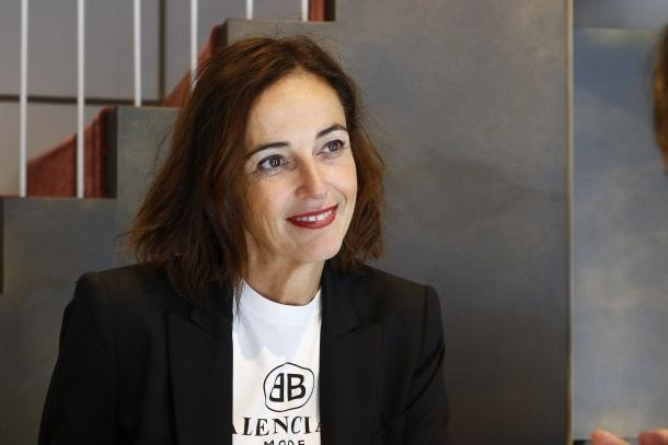 La presidenta de The Shopping Mile, Sònia Yebra.
