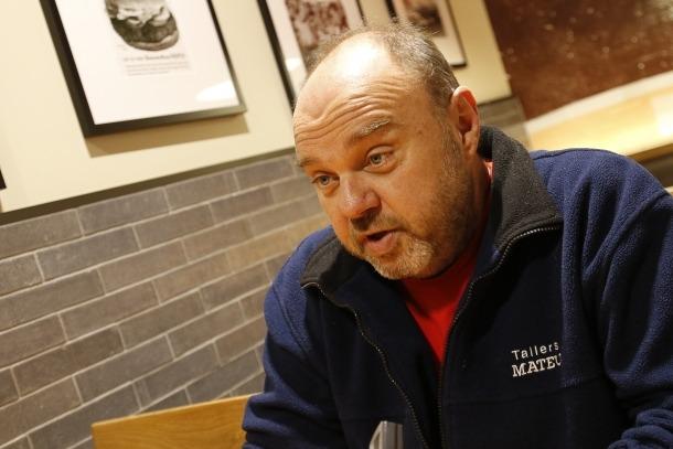 Gabriel Ubach és secretari general de la Unió Sindical d'Andorra.