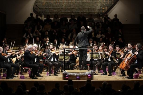 Un moment del tradicional Concert de Cap d'Any.