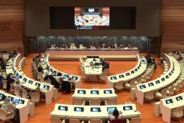 Una sessió del Comitè per a l'eliminació de la discriminació contra les dones (Cedaw).