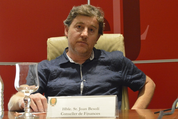 L'exconseller de Finances del Comú de Sant Julià de Lòria, Joan Besolí.
