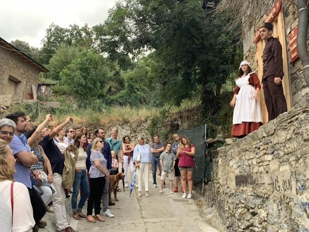 El públic assistent va xalar amb les actuacions.