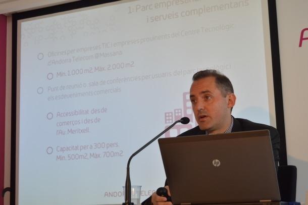 Andorra Telecom invertirà entre 13 i 15 milions per la compra d'una part de l'operador mòbil espanyol 'MásMóvil'