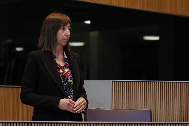 La ministra Eva Descarrega ha tornat a defensar les adjudicacions a SPAI.