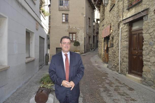 El president d'Unió Hotelera d'Andorra, Manel Ara