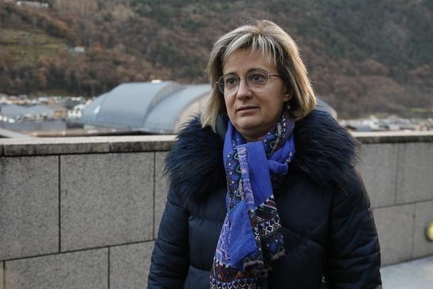 La presidenta de l'ADA, Montserrat Nazzaro.