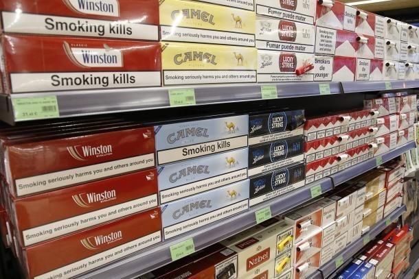 Tabac en un establiment comercial.