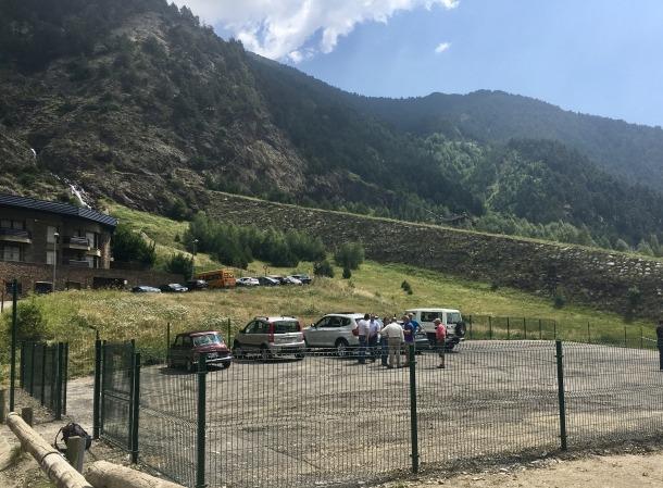 El nou aparcament del parc natural del Comapedrosa ja està operatiu