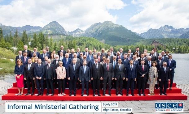 La trobada informal de ministres d'Afers Exteriors de l'OSCE.