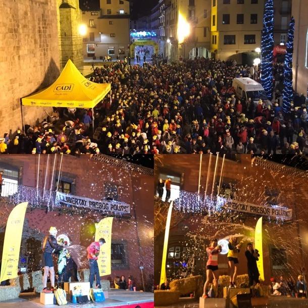 Més de 2.000 persones van gaudir de la Sant Silvestre de la Seu d'Urgell.