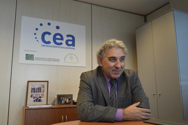 Jordi Galobardas és el representant dels empresaris al Consell d'Administració de la CASS.