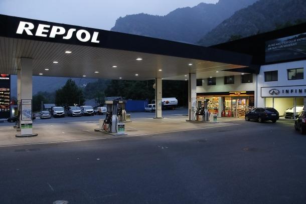Els fets van passar en la benzinera Repsol de Santa Coloma.