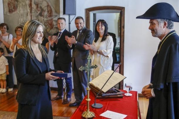 Torres jura com a nova membre del Consell Superior de la Justícia