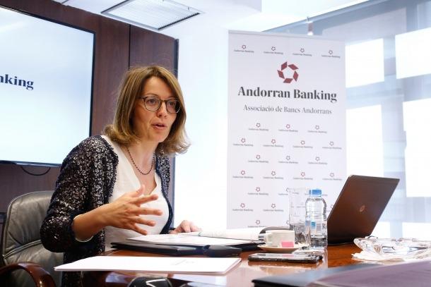 Esther Puigcercós és directora general d'Andorran Banking.