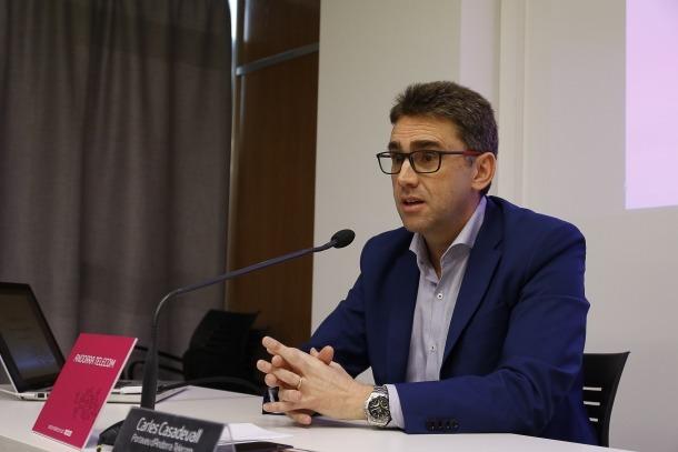 Carles Casadevall, portaveu d'Andorra Telecom.