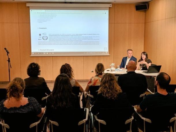 La presentació del document final va tenir lloc al Centre de Congressos.