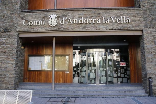 Les instal·lacions del Comú d'Andorra la Vella.