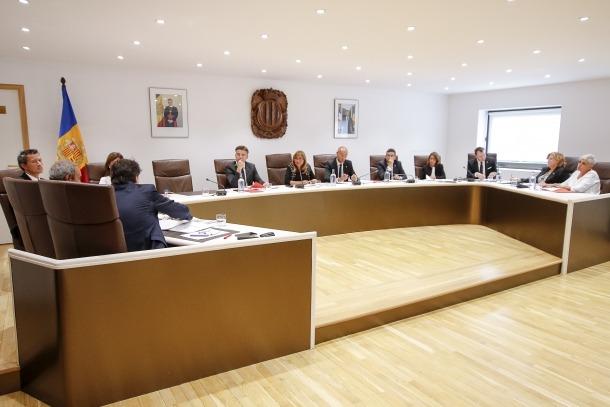 Una sessió del comú d'Andorra la Vella.