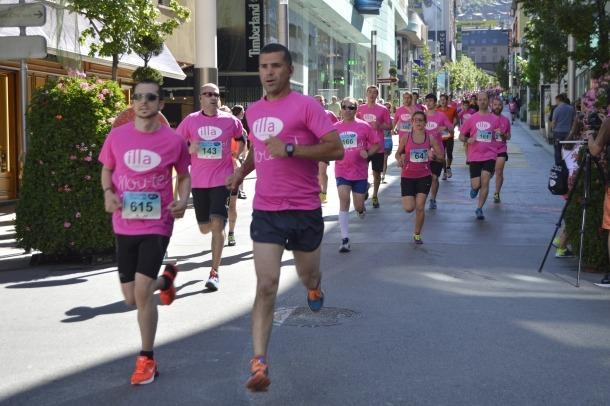 La cursa del Dia de l'esport s'emmarca en una setmana dedicada a l'activitat física cursa popular illa carlemany