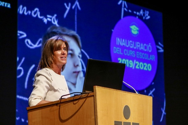 L'acte oficial d'inauguració del curs 2019-2020 va tenir lloc ahir al Centre de Congressos, a Andorra la Vella.