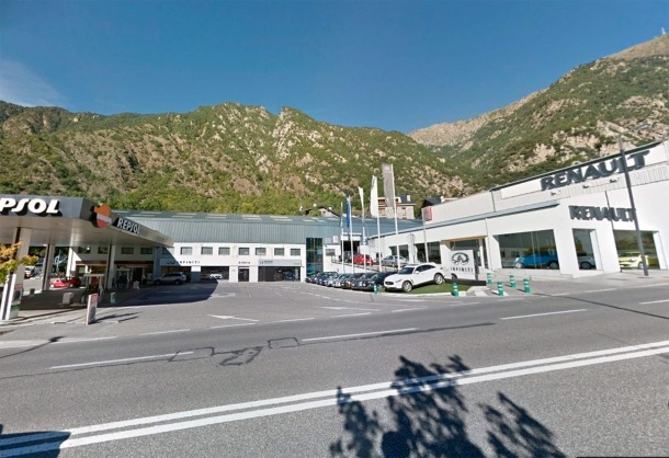 El processat va ferir amb unes tisores i amb diverses punxades un altre home, a la benzinera de Santa Coloma el 31 de maig del 2017.