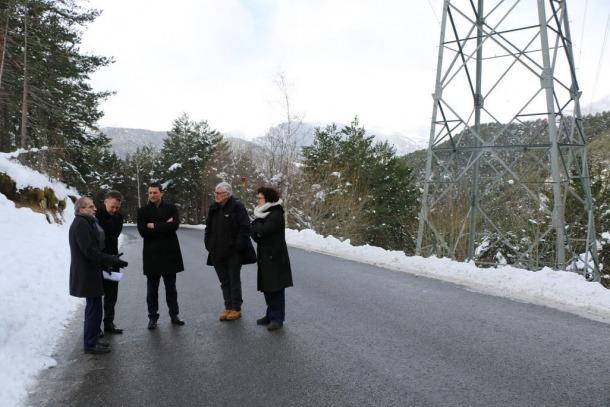 Els consellers generals liberals van visitar ahir les ubicacions alternatives que proposa la plataforma Aldosa Veïns.