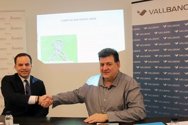 Michael Christner i Josep Saravia van presentar el nou web d'Assandca.