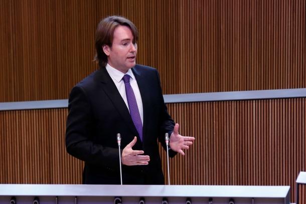 El conseller independent de la Massana Carles Naudi d'Areny-Plandolit.