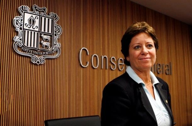 Cristina Rodríguez, en l'etapa com a ministra de Salut.