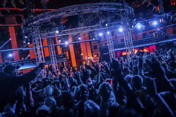 El músic belga va venir a actuar al festival Snowbreak del Pas de la Casa.