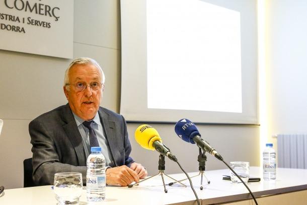 Miquel Armengol, president de la Cambra de Comerç.