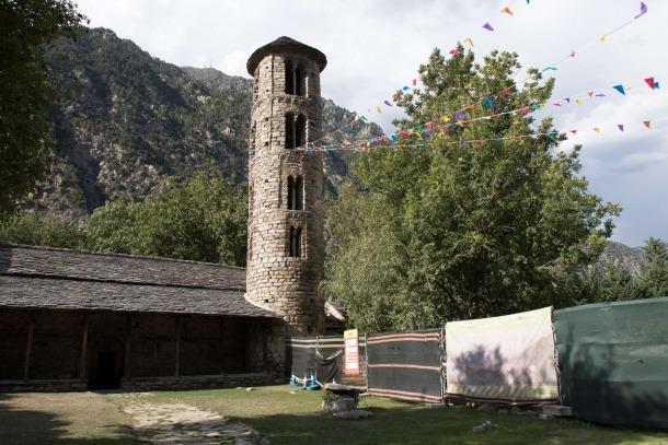 Andorra, Santa Coloma, arqueologia, excavació, informe, prospecció, sondeig, mapping