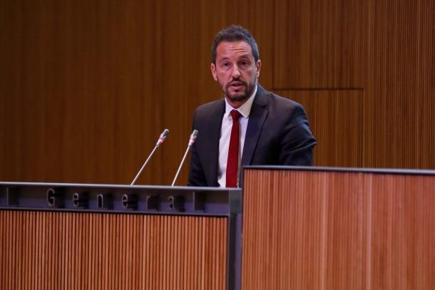 El conseller general del PS Pere López.