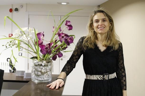 Sophie Bellocq és la degana del Col·legi d'Advocats.