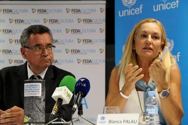 FEDA i l'Unicef, units altre cop contra la desnutrició infantil