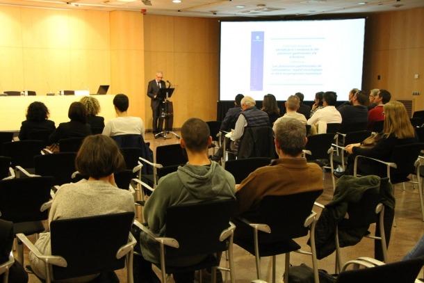 El ministre de Turisme, Francesc Camp, en un moment de la presentació del projecte 'Identificació i revaloració del patrimoni gastronòmic viu d'Andorra'.