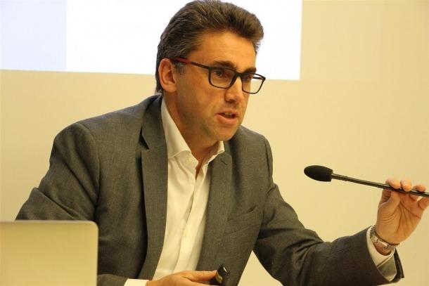 El portaveu d'Andorra Telecom, Carles Casadevall.