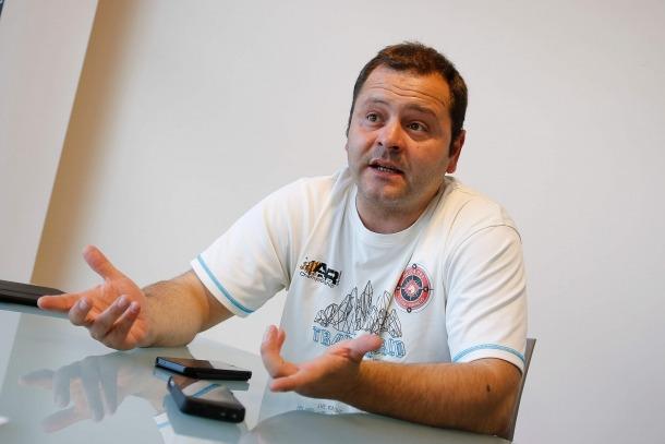 David Garcia, secretari general del Sindicat d'Ensenyament Públic (SEP).