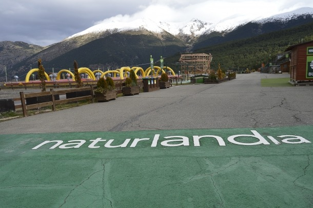 Les instal·lacions de Naturlàndia.