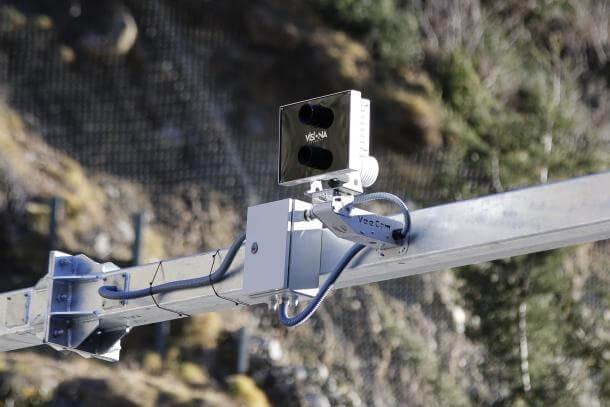 Des del Punt de Trobada i fins a la frontera el radar saltarà a tots aquells vehicles que superin els 90 quilòmetres per hora.