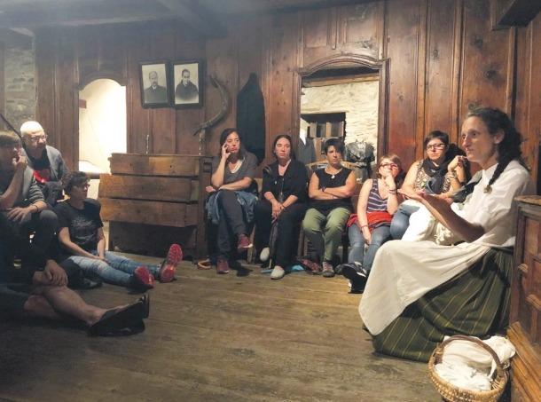Imatge de l'activitat Nit de bruixes a l'Ecomuseu de les Valls d'Àneu.