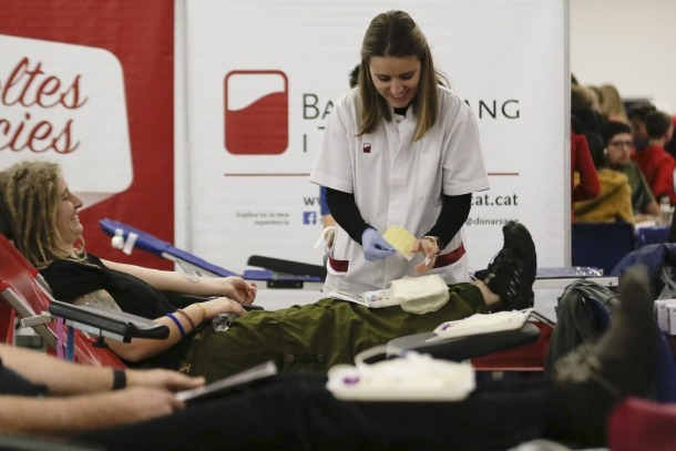 La campanya de sang es va fer dimarts passat.