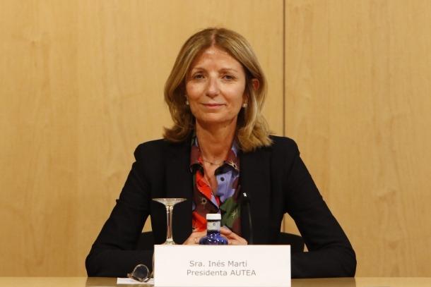La presidenta d'Autea, Inés Martí.