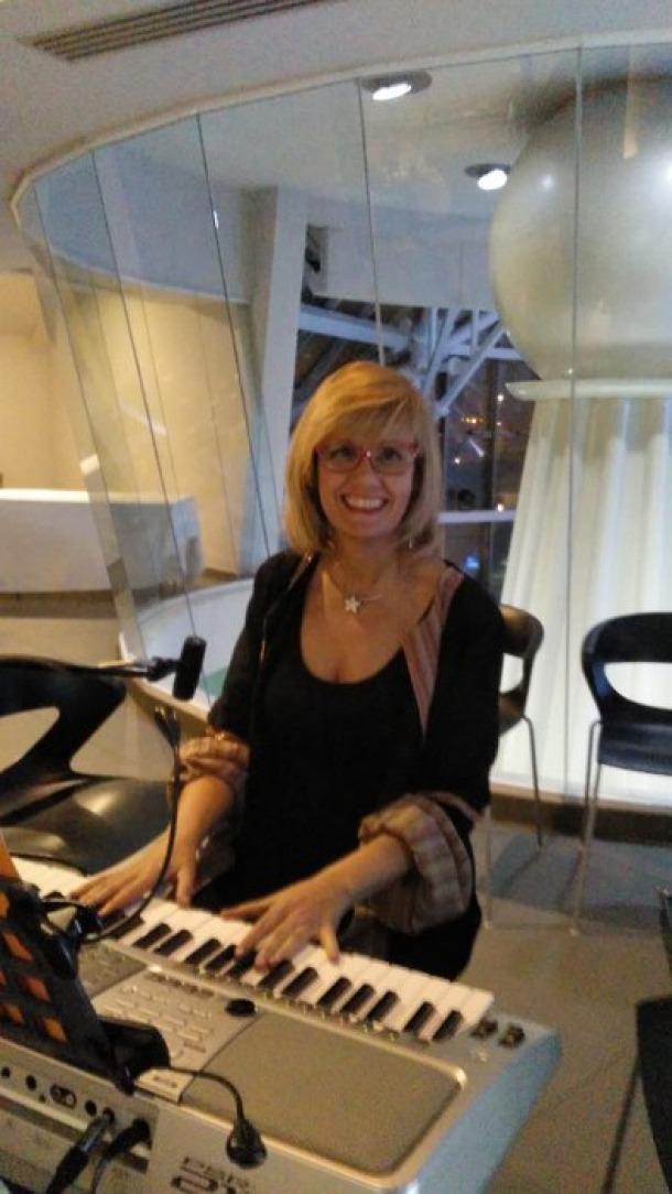 Núria Romero, integrant del grup Amaru.