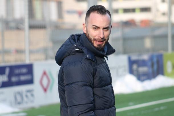 L'entrenador de la UE Sant Julià, Jesús Barón.