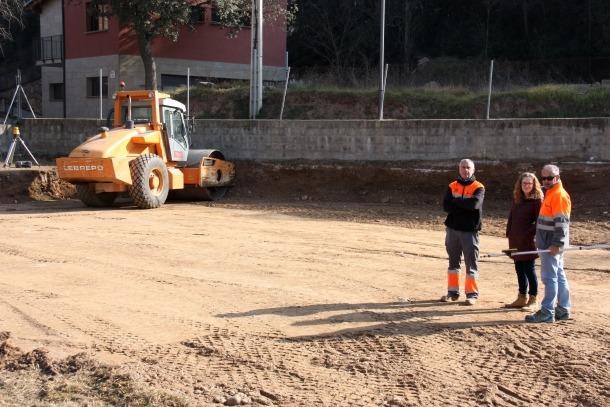 El nou edifici de l'Ajuntament de Bassella s'està construint al nucli d'Ogern.