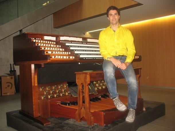 Andorra, festival internacional d'orgue, plaça del Consell, Ignacio Ribas, Raúl Prieto, organista