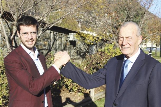 Cerni Cairat i Miquel Aleix són el candidats a cònsol major més jove i més gran, respectivament.